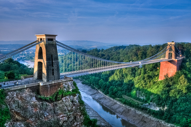 The Clifton suspension bridge: designed by a woman, built by Brunel