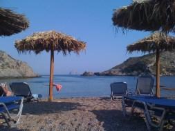 Greek beach