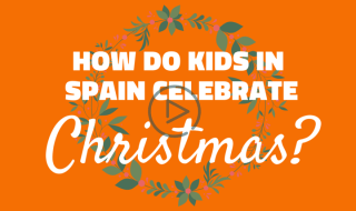 kids in spain celebrate christmas