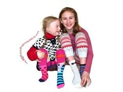 odd socks Magdalena and Agnieszka sitting
