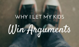 let my kids win arguments