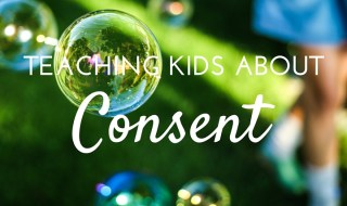 teaching kids about consent