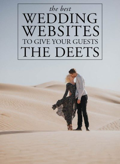 The Best Wedding Websites to Give Your Guests the Deets ...