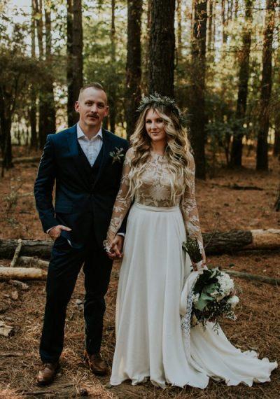 Rustic Bohemian Ranch Wedding in Oklahoma | Junebug Weddings