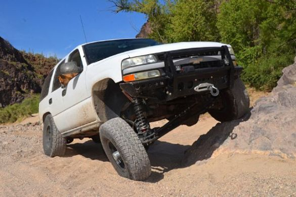 Verne Simons  4x4 Hoard   Jungle Fender Flares   Best 4x4 Flares 001 2005 Chevy Tahoe PPV Photo 122747776