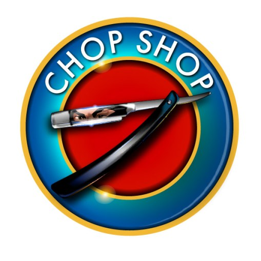 Chop Shop Logo designed by Junior Tomlin