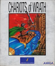 Chariots of Wrath Game Design Artwork by Junior Tomlin
