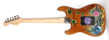 Product Design, guitar decorated by Junior Tomlin