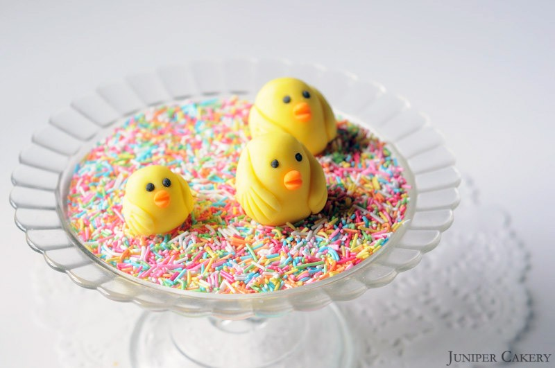 how to make easter chicks