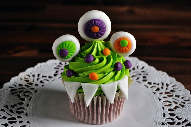D.I.Y Monster Cupcakes by Juniper Cakery