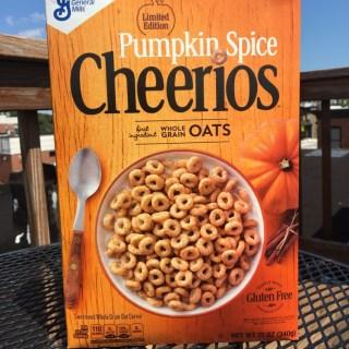 General Mills Pumpkin Spice Cheerios