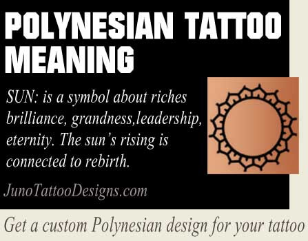 polynesian sun symbol meaning - junotattoodesigns