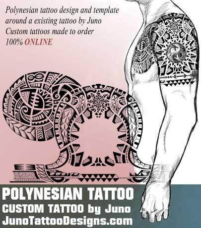 polynesian tattoo, male arm tattoo. tribal tattoo, juno tattoo designs
