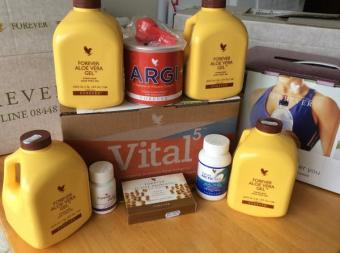 Vital5 Pak with Forever Aloe Vera Gel