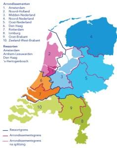 Gerechtelijke-kaart-Nederland-2013