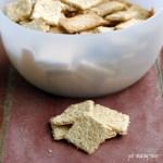Easy Homemade Whole Grain Crackers (Soaked)