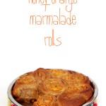 Honey Orange Marmalade Sourdough Rolls