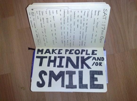 think smile