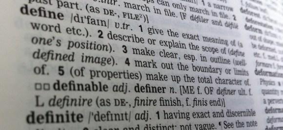 definition of define
