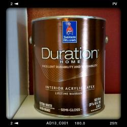 Small Of Sherwin Williams Duration