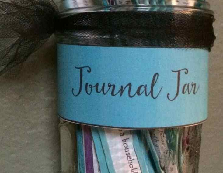 Create a fun journal jar for your students.