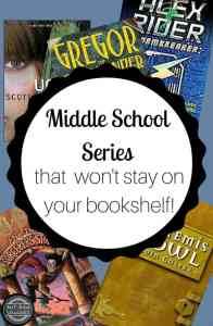 These terrific series are sure to engage your middle school students -- even the reluctant readers!