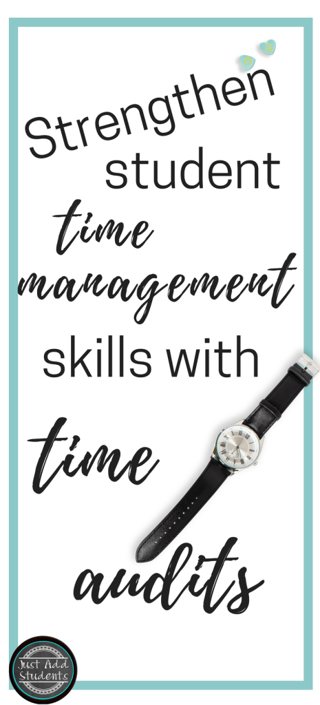 Use a time audit to identify how you use your time