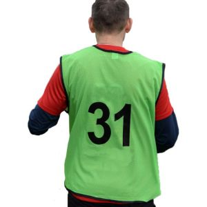 Custom training bibs