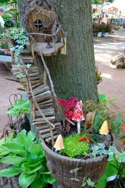 Small Of Mushroom Fairy Garden