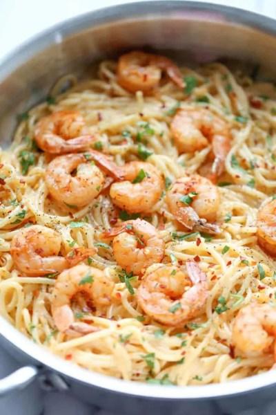 15 Easy Shrimp Pasta Recipes You Need to Feed Your Family!