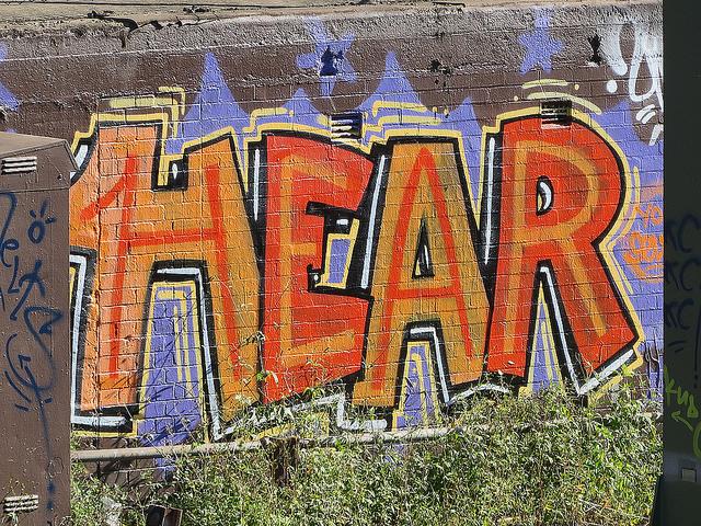 Newtown grafitti