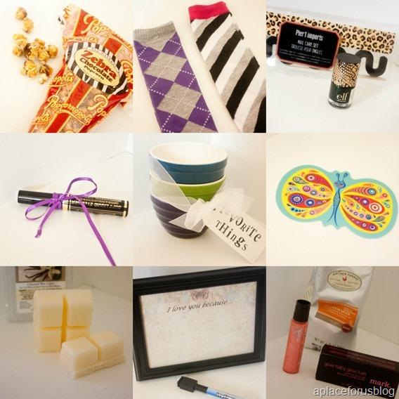 Favorite Things Gift Ideas