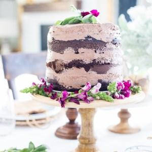 Autumn Naked Cake