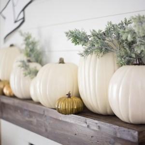 Michaels Half Pumpkins