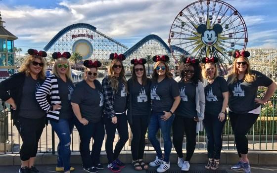 Girls Trip to Disneyland during the Holidays