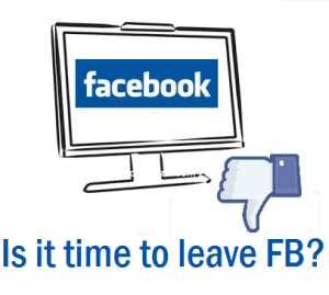 Is it time to quit or leave Facebook?