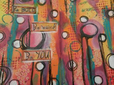 Art Journaling, Mixed Media