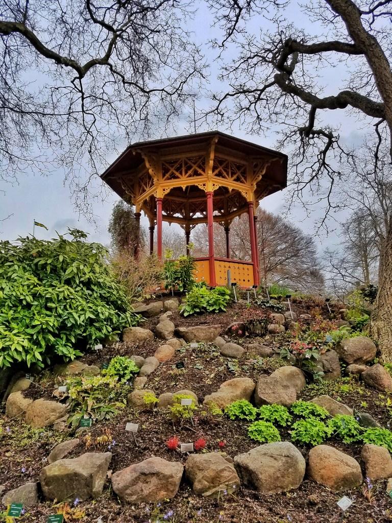 Visby Botanical Garden Gazebo