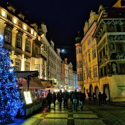 Visiting Prague at Christmas