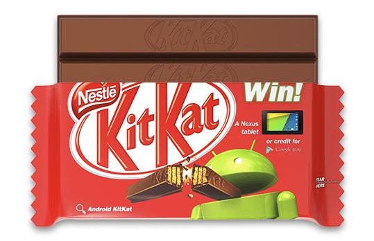 KitKat Google Android partnership