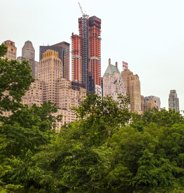 New York City from Central Park