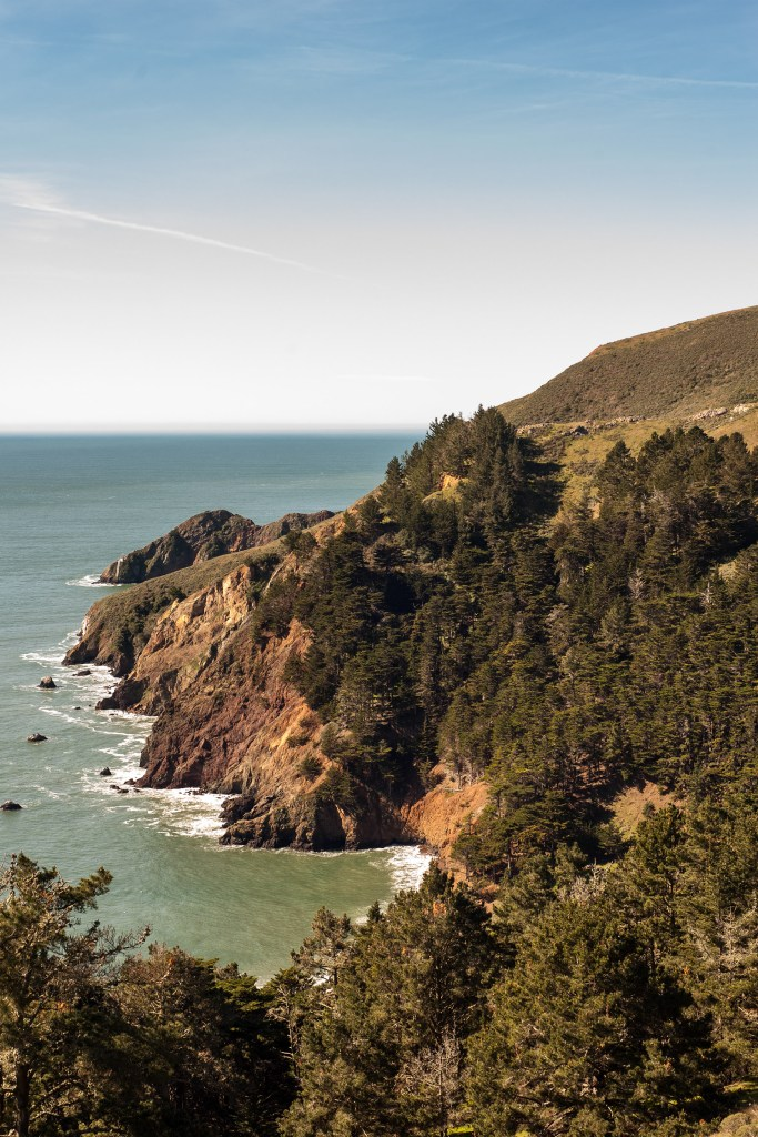 Marin Headlands to the Pacific Ocean