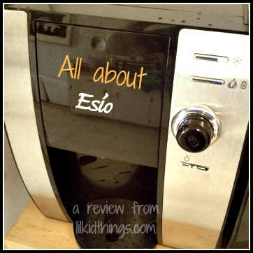 Esio Hot/Cold Beverage Maker review from Lilkidthings.com