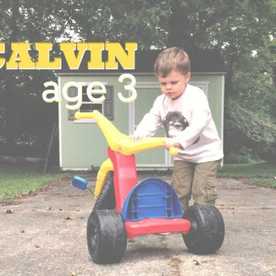 An interview with Calvin at age 3