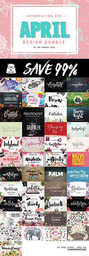 commercial use font bundle