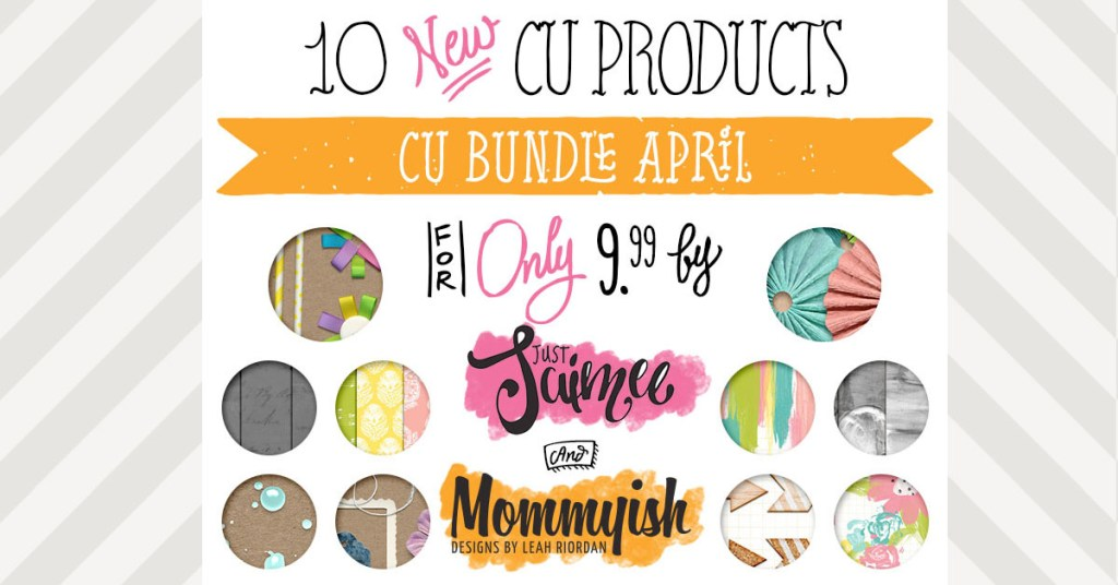 New! April Commercial Use Bundle Collab