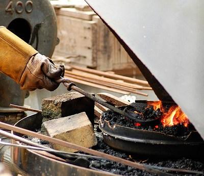 A Knife From a Blacksmith