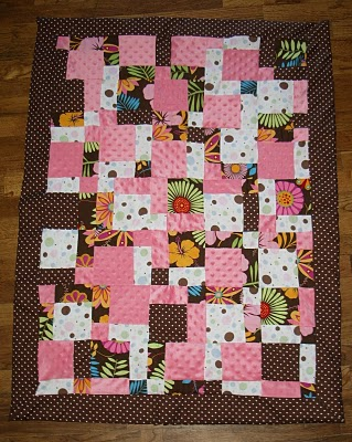 A Really Pretty Disappearing 9 Patch Doll Quilt