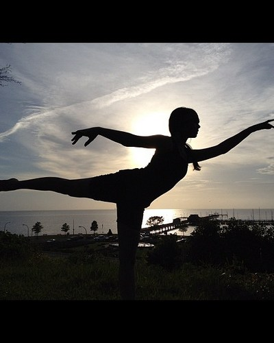Ballerina Silhouette