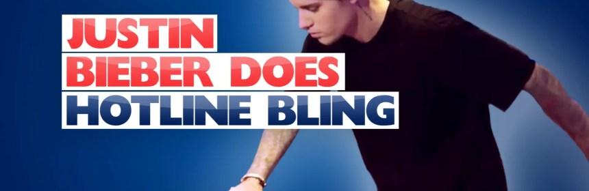 justin bieber remix hotline bling dance